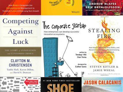 Bästa böckerna för entreprenörer 2017