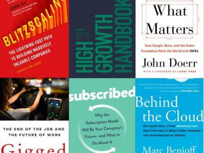 Bästa böckerna för entreprenörer 2018